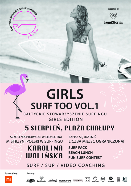 plakat bssurf girls