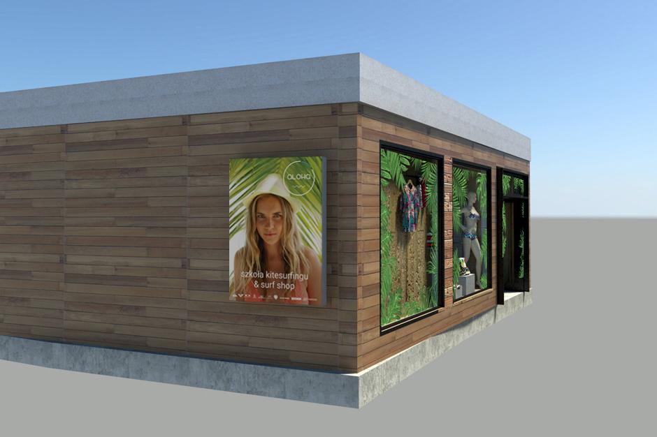 wizualizacja aloha shop