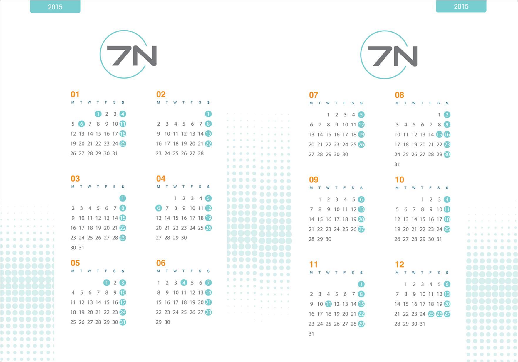 kalendarz 7N