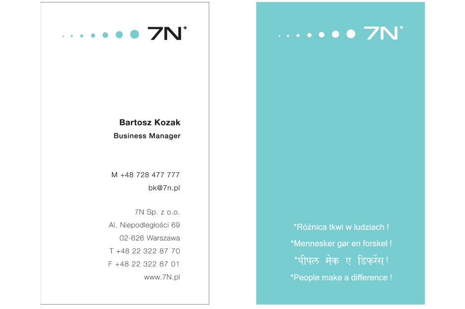 wizytówka 7N